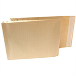 New Guardian Armour Envelopes Peel And Seal Gusset 50mm 130gsm Kraft Manilla 380x280mm [Pack 100] H28313