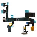CoreParts MOBX-IP5S-INT-8 mobile phone spare part Switch flex cable Black,Silver