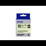 Epson Label Cartridge Glow-in-the-Dark LK-5ZBU Black/Glow 18mm (5m)