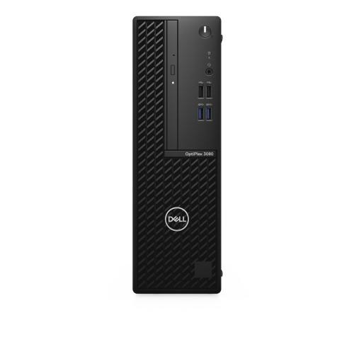DELL OptiPlex 3080 i3-10100 SFF 10th gen Intel® Core™ i3 8 GB DDR4-SDRAM 256 GB SSD Windows 10 Pro PC Black