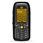"CAT B25 2"" 161g Black Feature phone"