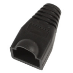 MicroConnect Boots RJ45 Black, 50pcs