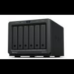 Synology DiskStation DS620SLIM data-opslag-server NAS Desktop Ethernet LAN Zwart J3355