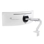 Ergotron HX Series HX Desk Monitor Arm with HD Pivot (white)