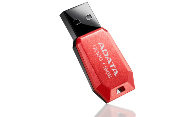 ADATA 16GB UV100 16GB USB 2.0 Type-A Red USB flash drive