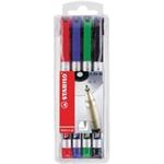 STABILO Write-4-all marker 4 pc(s) Multi