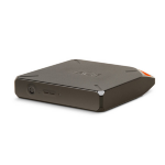 LaCie Fuel 1TB Wi-Fi 1000GB Grey,Orange external hard drive
