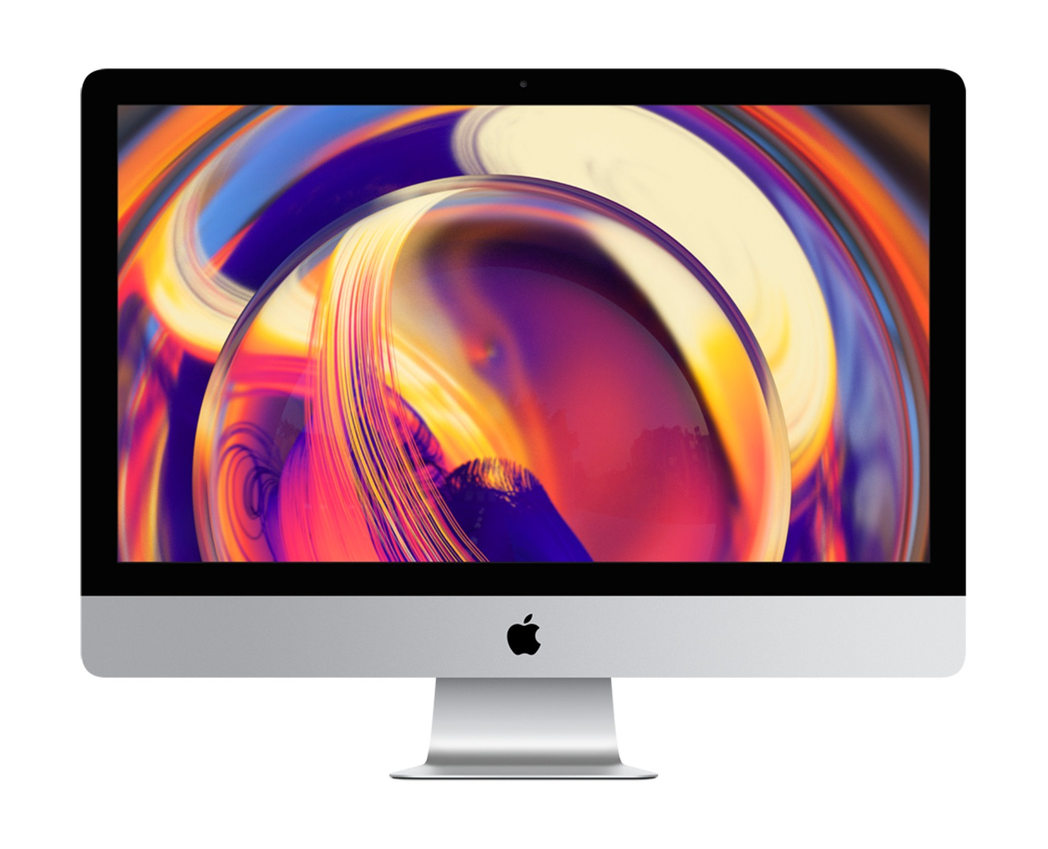 "Apple iMac 68.6 cm (27"") 5120 x 2880 pixels 9th gen Intel® Core™ i5 8 GB DDR4-SDRAM 2000 GB Fusion Drive Silver All-in-One PC"