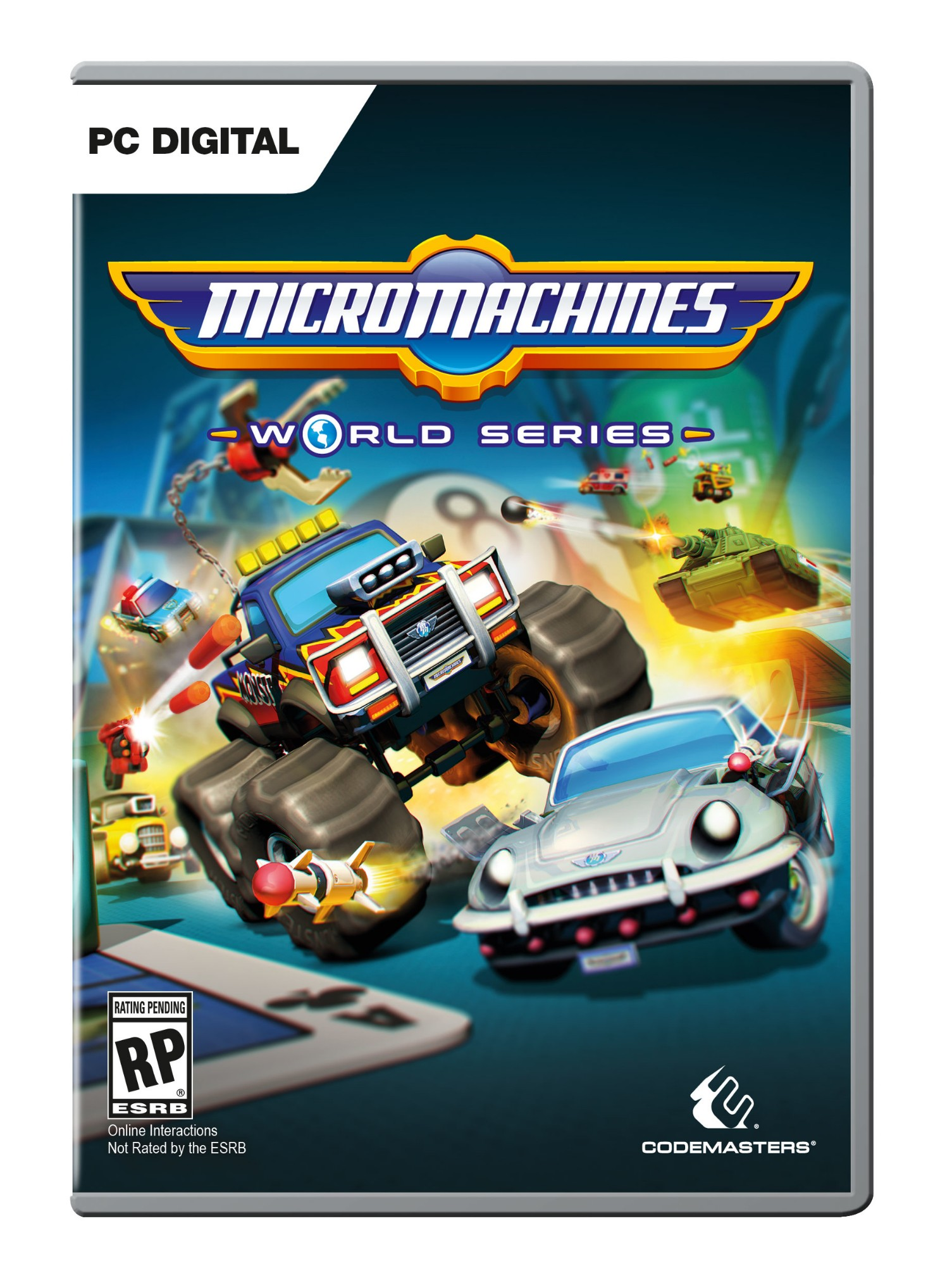 Nexway Micro Machines World Series vídeo juego PC/Mac/Linux Básico Español
