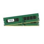 Crucial 16GB Kit (8GBx2) DDR4 memory module 2400 MHz