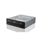 LG 24xDVD+-R,12xDVD-RAM,DL,BLACK,SATA, BULK PACK, Cyberlink Power2Go Software, 2Yrs Wrty