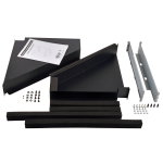 Tripp Lite Rack Enclosure Server Cabinet Side Airflow Duct Kit - Rack Air Duct Kit - 2URM