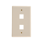 Weltron 44-792 outlet box Ivory