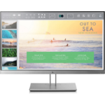 "HP EliteDisplay E233 LED display 58.4 cm (23"") Full HD Flat Black,Silver"