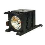 Toshiba Generic Complete Lamp for TOSHIBA 62MX196 projector. Includes 1 year warranty.