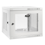 Tripp Lite SRW9UDPW rack cabinet 9U Wall mounted rack White