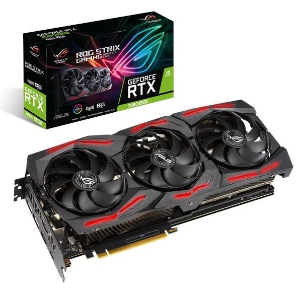 ASUS 90YV0DQ1-M0NA00 videokaart GeForce RTX 2060 SUPER 8 GB GDDR6