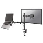 Newstar flat screen and notebook desk mount