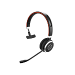 Jabra Evolve 65 UC Mono Headset Hoofdband Bluetooth Zwart