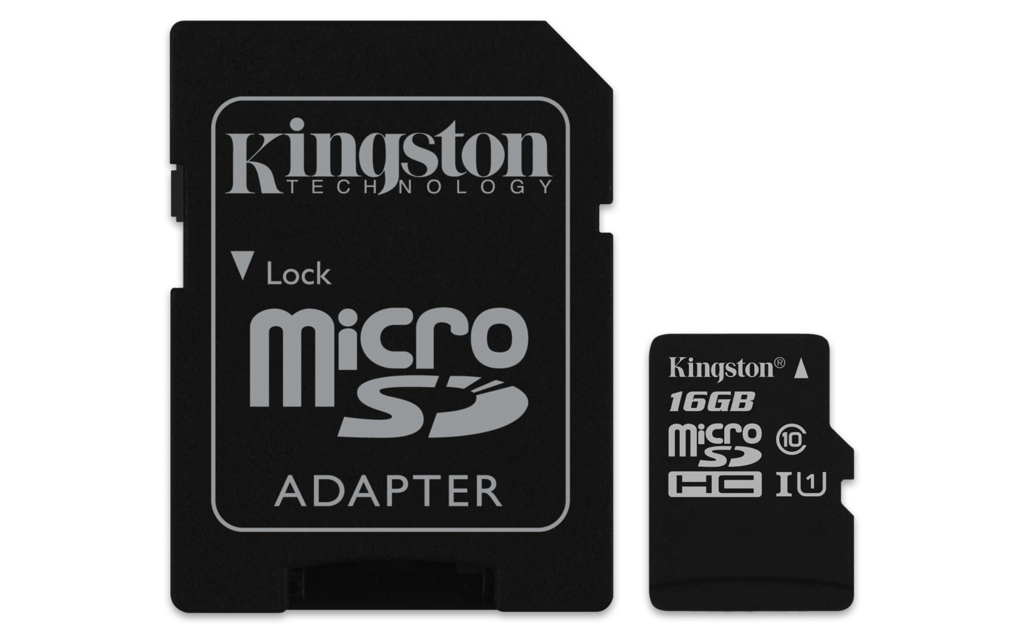 Kingston Technology Canvas Select memory card 16 GB MicroSDHC Class 10 UHS-I