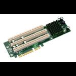 Supermicro 2U 3-PCI-X Slot Full Height, Full Length Active Riser Card slot expander