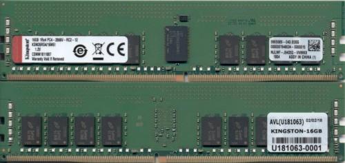Kingston Technology KSM26RS4/16MEI memory module 16 GB DDR4 2666 MHz ECC