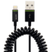Leitz Complete Coiled Lightning to USB Cable, 1 m