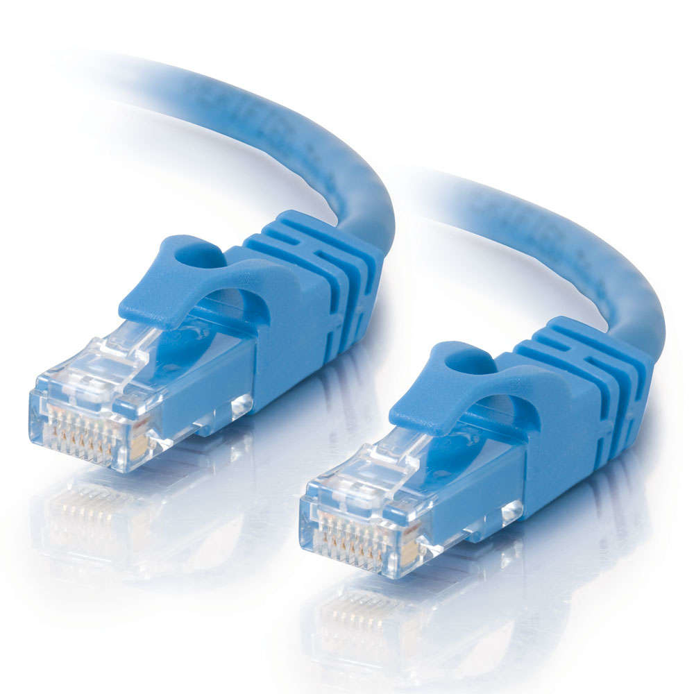 C2G 10m Cat6 Patch Cable networking cable U/UTP (UTP) Blue