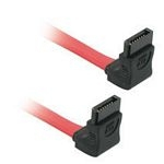 C2G 0.5m 7-pin SATA cable Red