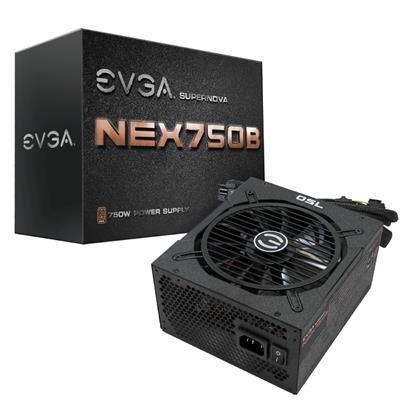 EVGA SuperNOVA 750w B1 BRONZE 80+ SEMI MODULAR PSU