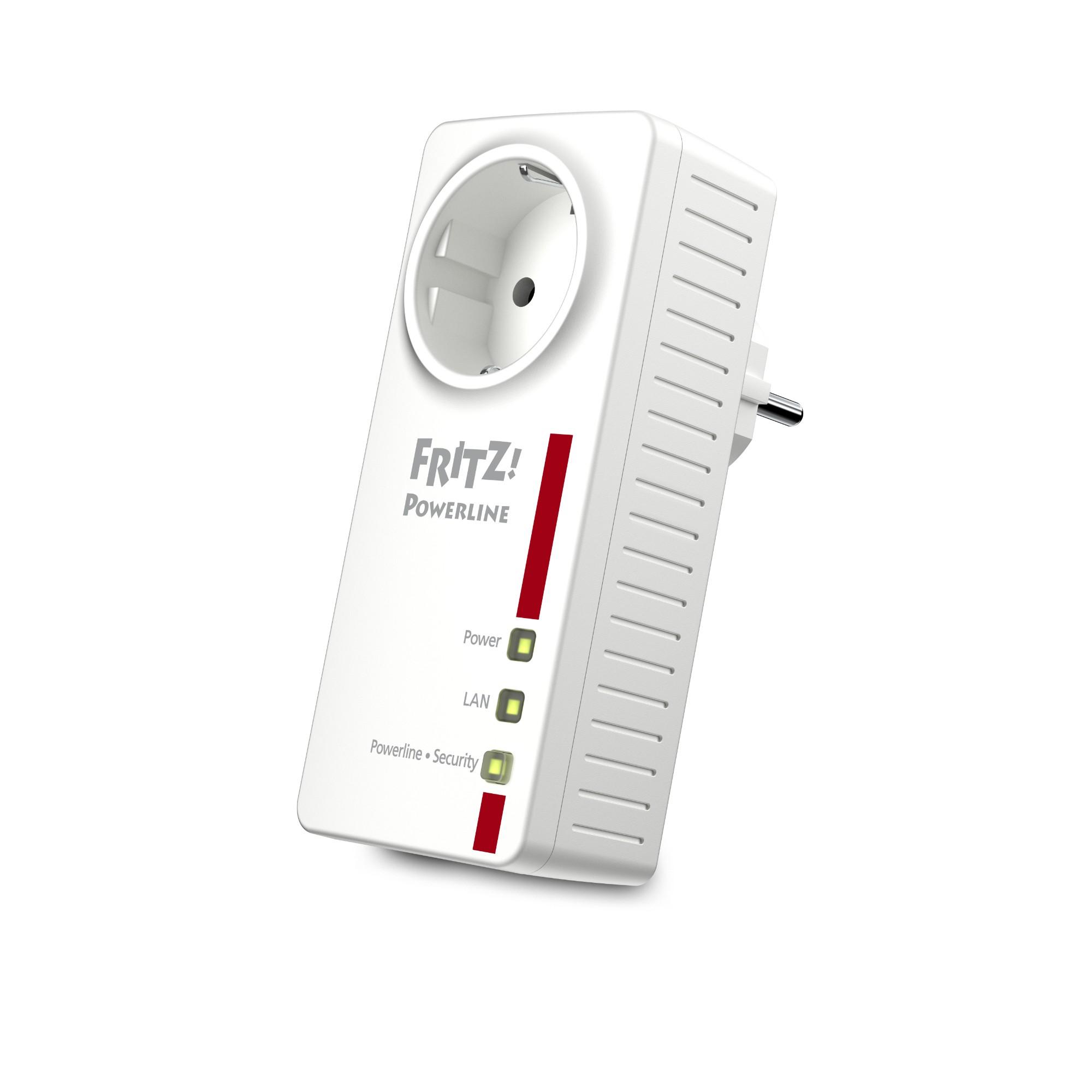 AVM FRITZ!Powerline 1220E 1200 Mbit/s Ethernet Blanco 1 pieza(s)