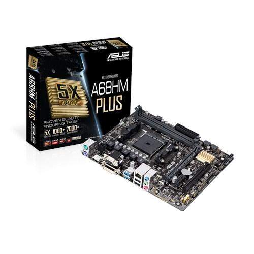 ASUS A68HM-Plus AMD A68H Socket FM2+ Micro ATX