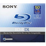 Sony Blu-Ray Dual-Layer Disc BD-R DL x 1 - 50 GB - by Sony (BNR50AV)