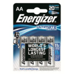 Energizer 7638900262643 Lithium 1.5V non-rechargeable battery
