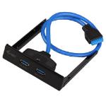 i-tec USB 3.0 rozbočovač připojitelný na interní 19-pin USB 3.0 konektor