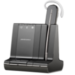 Plantronics Savi W740-M Ear-hook Monaural Wireless Black mobile headset