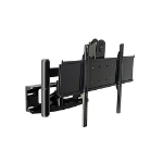 Peerless PLA50-UNL Black flat panel wall mount