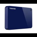 Toshiba Canvio Advance external hard drive 4000 GB Blue