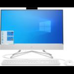 """HP 22-df0000n 54.6 cm (21.5"""") 1920 x 1080 pixels Intel® Celeron® 4 GB DDR4-SDRAM 128 GB SSD All-in-One PC Windows 10 Home Wi-Fi 5 (802.11ac) White"""