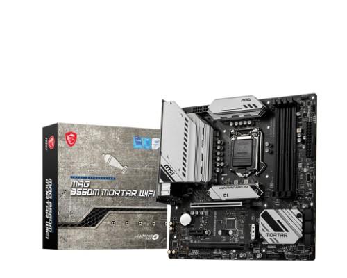 MSI MAG B560M MORTAR WIFI motherboard Intel B560 LGA 1200 micro ATX