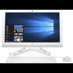 "HP 24 -f0035a 60.5 cm (23.8"") 1920 x 1080 pixels 7th Generation AMD A6-Series APUs 4 GB DDR4-SDRAM 1000 GB HDD Wi-Fi 5 (802.11ac) White All-in-One PC Windows 10 Home"