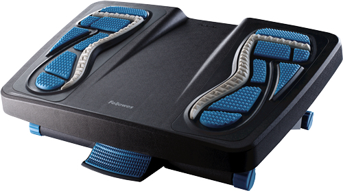 Fellowes 8068001 foot rest Blue, Charcoal, Grey