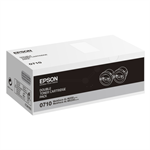 Epson C13S050710 (0710) Toner black, 2.5K pages, Pack qty 2