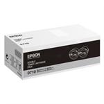 Epson C13S050710 (0710) Toner black, 2.5K pages, Pack qty 2
