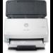 HP Scanjet Pro 3000 s4 600 x 600 DPI Escáner alimentado con hojas Negro, Blanco A4