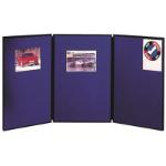 NOBO DISPLAY BOARD PORTABLE 3 PANEL EACH PANEL 900(H)X600(L) MM