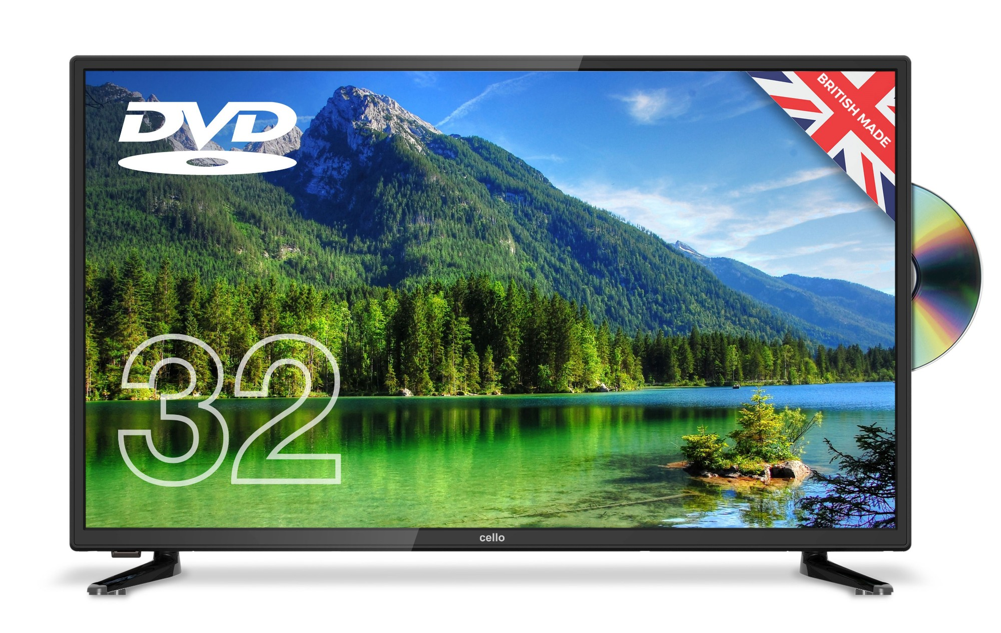 Led Tv 32in C32227ft2 Hd Ready 1366 X 768 16:9