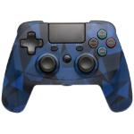 Snakebyte 4 S Wireless Blue, Camouflage Bluetooth/USB Gamepad Analogue / Digital PlayStation 4, Playstation 3