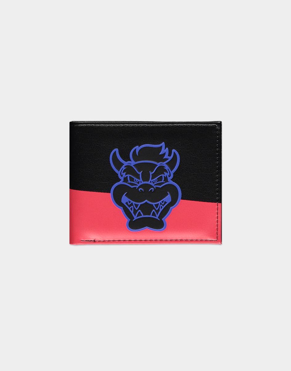 Nintendo Super Mario Bowser wallet Male Black