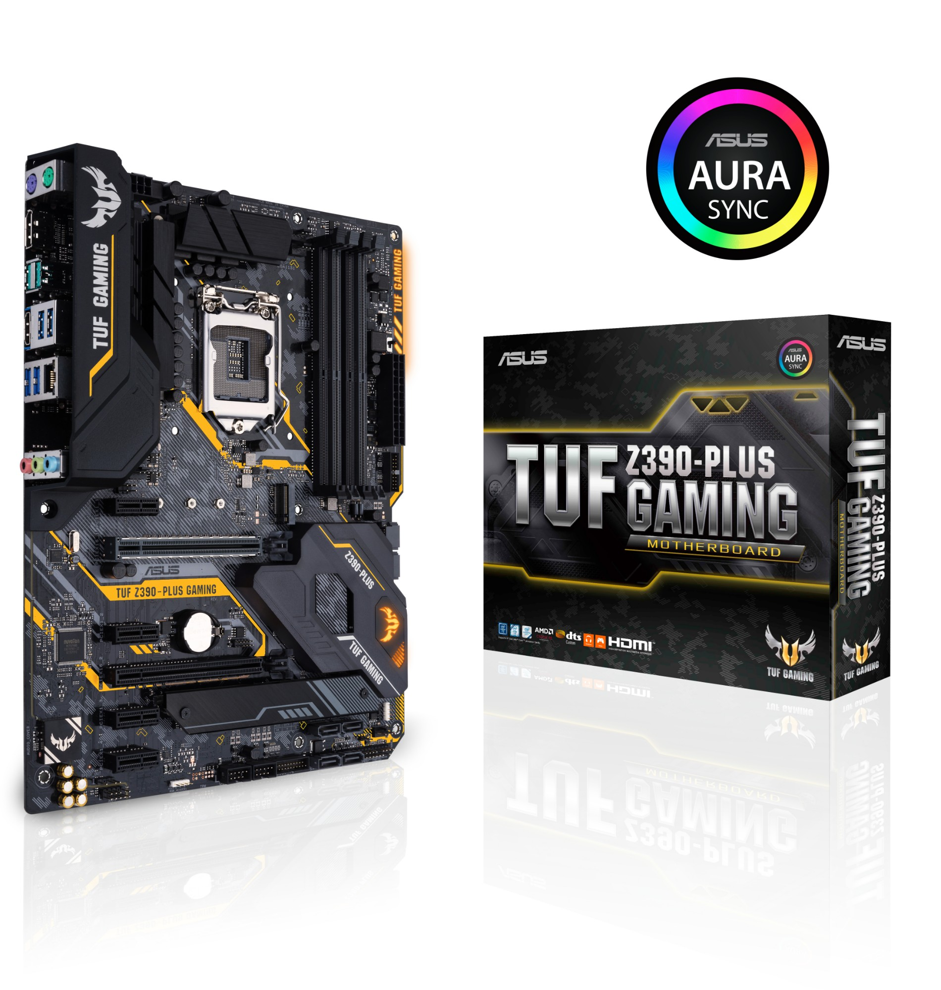 www CUSTOMPC ie - ASUS TUF Z390-PLUS GAMING motherboard LGA